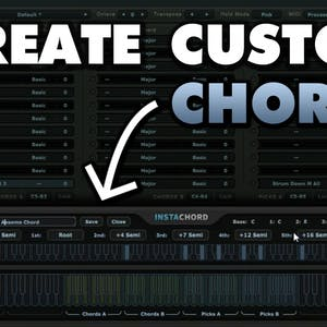 InstaChord 1.1.0 Update - Make Your Own / Custom Chords!