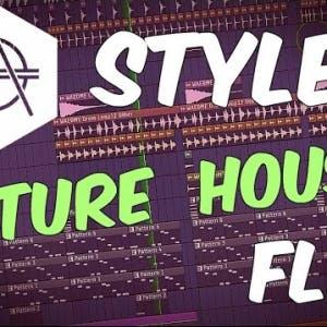 Hexagon Style FUTURE HOUSE FLP | FL Studio Template 30