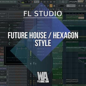 Free FLP 30: Future House / Hexagon Style
