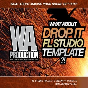 Drop It FL Studio Template