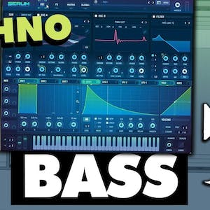 How To Make PRO Techno Bass In Serum (In 10 Minutes)