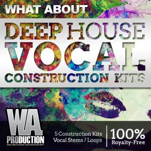 Deep House Vocal Construction Kits