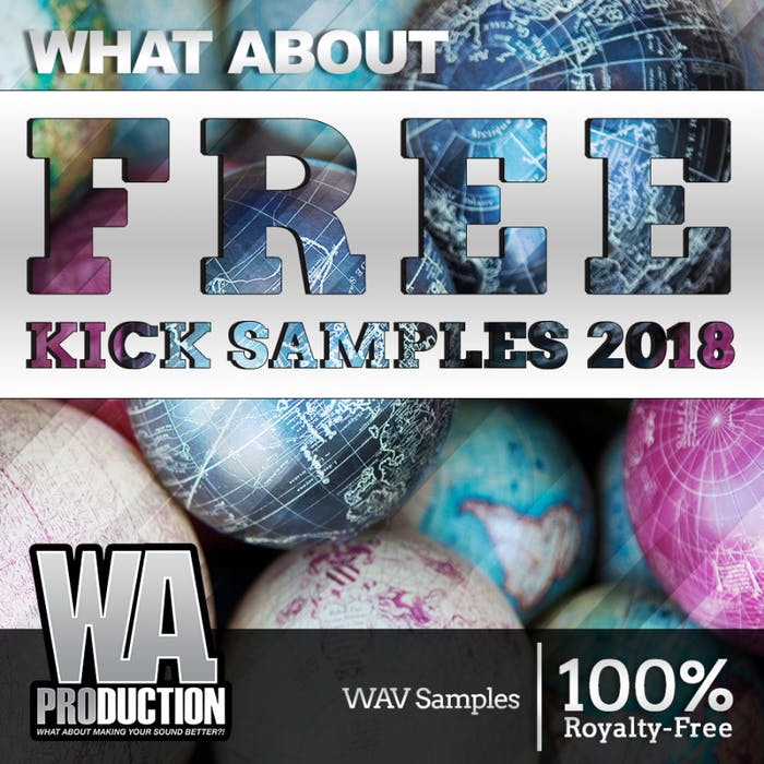 FREE Kick Samples 2018 | W  A  Production
