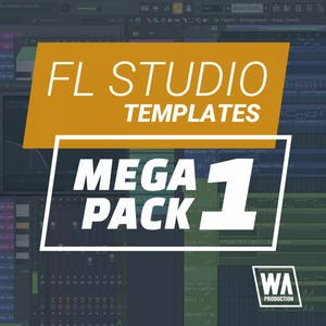 FL Studio Templates Mega Pack 1