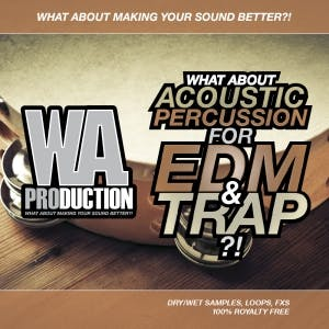 Acoustic Percussion For EDM & Trap