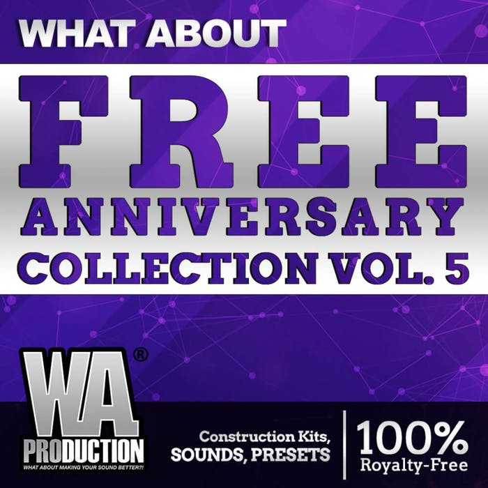 FREE Anniversray Collection Vol  5 | W  A  Production