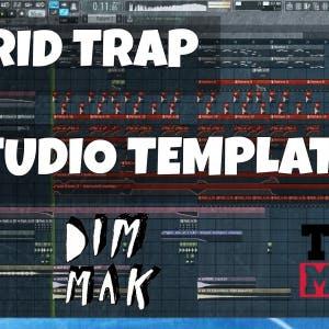 FL Studio Template 15: Autoerotique / DIM MAK Style Hybrid Trap