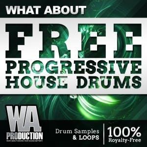 Free Progressive House Drums