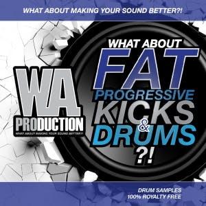 Fat Progressive Kicks & Drums