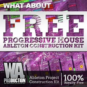 Free Progressive House Ableton Construction Kit