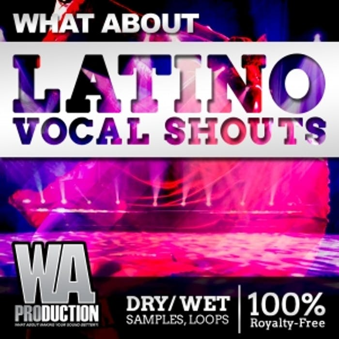 Latino Vocal Shouts | W  A  Production