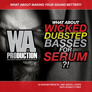 Wicked Dubstep Basses For Serum