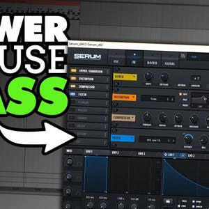 Making POWER House Bass In Xfer Serum Tutorial !