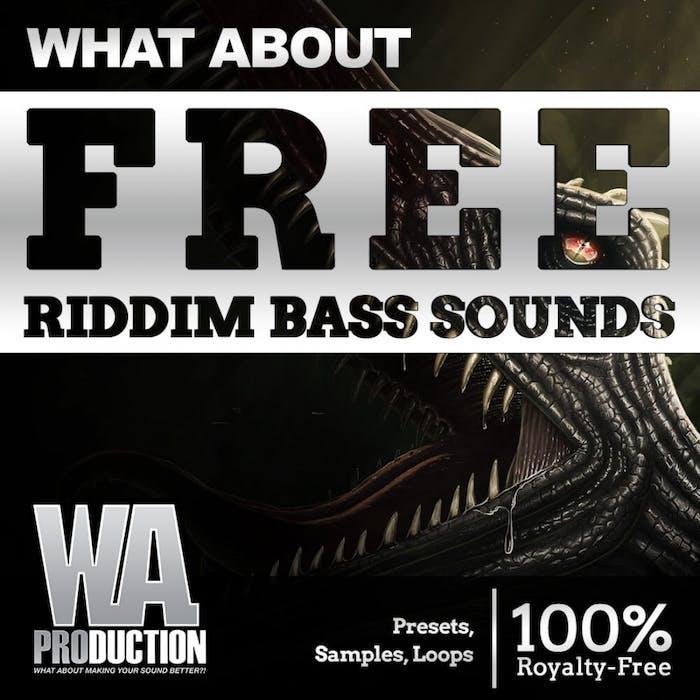 Free Riddim Bass Sounds | W  A  Production