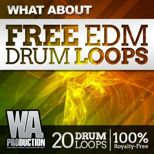 Free EDM Drum Loops