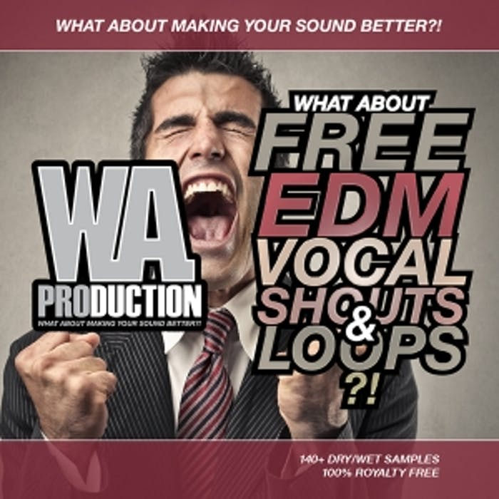 Free EDM Vocal Shouts & Loops   W  A  Production
