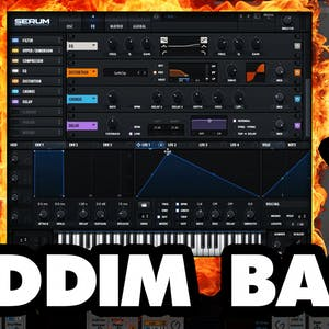 Make Ultimate Riddim Bass In Serum!