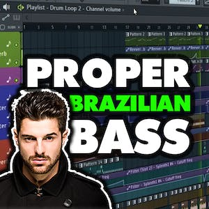 PROPER FL Studio Brazilian Bass / G House Template | FLP 55