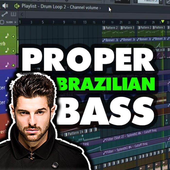 Free FLP 55: PROPER FL Studio Brazilian Bass / G House