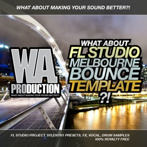 FL Studio Melbourne Bounce Template