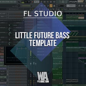 Free FLP 44: Little FUTURE BASS FL Studio Template
