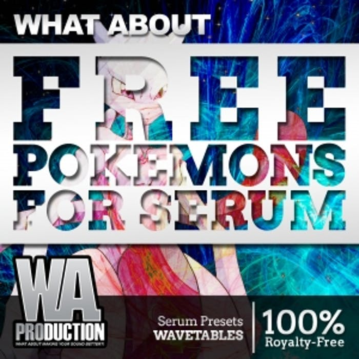 Free Pokemons For Serum | W  A  Production