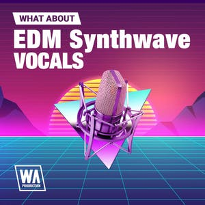 EDM Synthwave Vocals