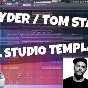 FL Studio Template 18: Kryder / Tom Staar Style Groove House