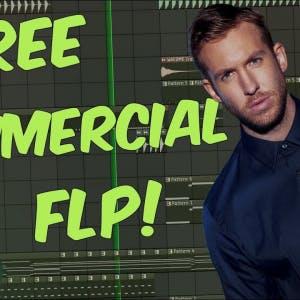 FREE Commercial Progressive Calvin Harris FL Studio Template 41