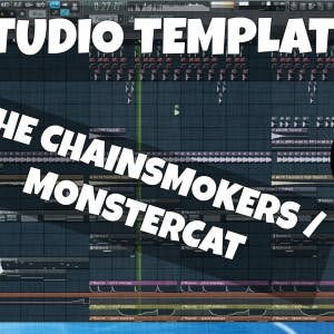FL Studio Template 17: The Chainsmokers / Monstercat Future Bass
