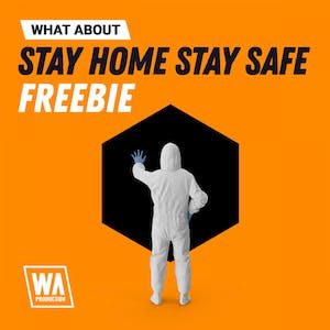 Stay Home Stay Safe Freebie