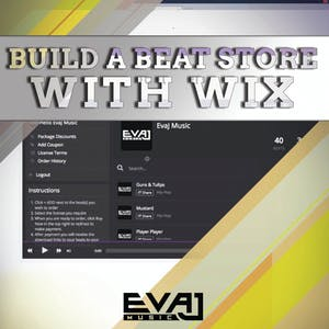 How To Build a Beat Store With Wix