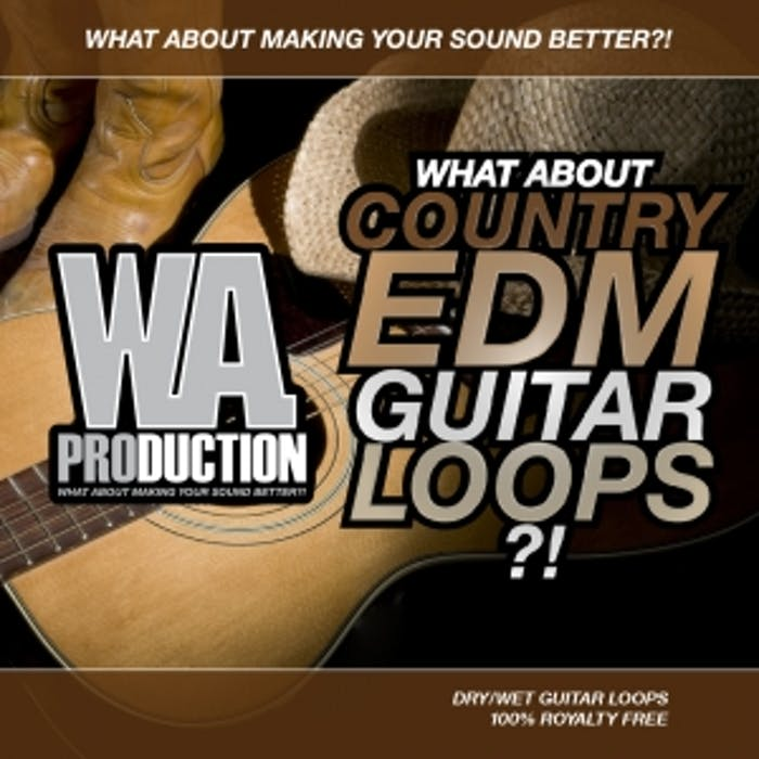 Country Edm Guitar Loops W A Production