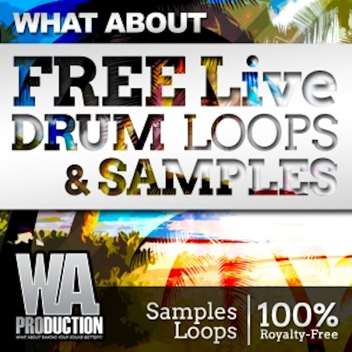 Free Live Drum Loops & Samples | W  A  Production
