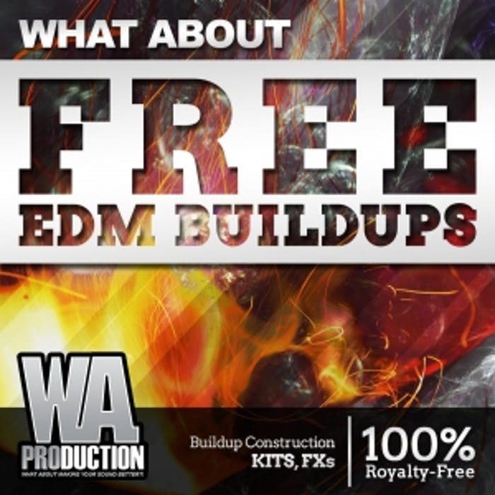 FREE EDM Buildups | W  A  Production