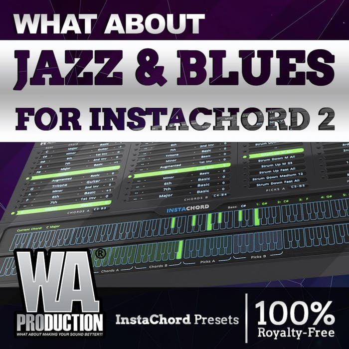 Jazz & Blues for Instachord 2 | W  A  Production