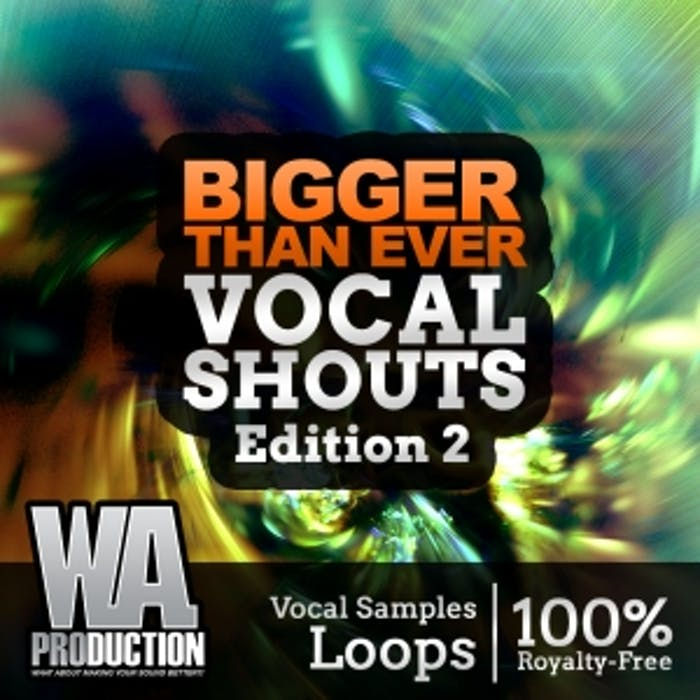 Vocal Shouts Edition 2   W  A  Production