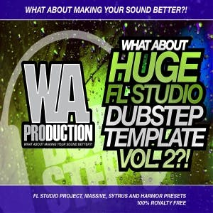 Huge FL Studio Dubstep Template Vol 2
