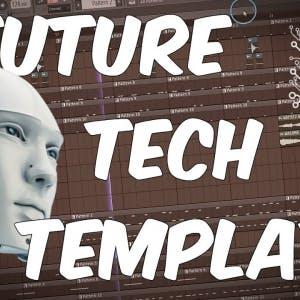 FUTURE TECH HOUSE FLP | FL Studio Template 35