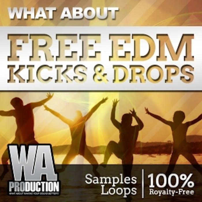 Free EDM Kicks & Drops   W  A  Production