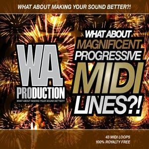 Magnificent Progressive MIDI Lines