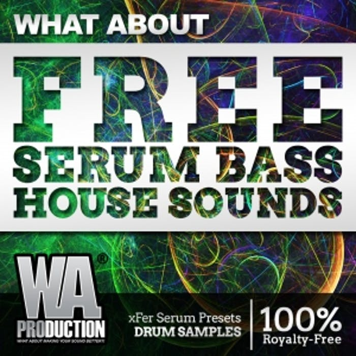 FREE Serum Bass House Sounds | W  A  Production