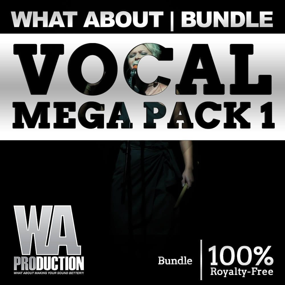 90% OFF | Vocal Mega Pack 1