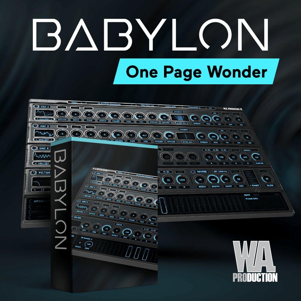 80% Off   Babylon Synthesizer