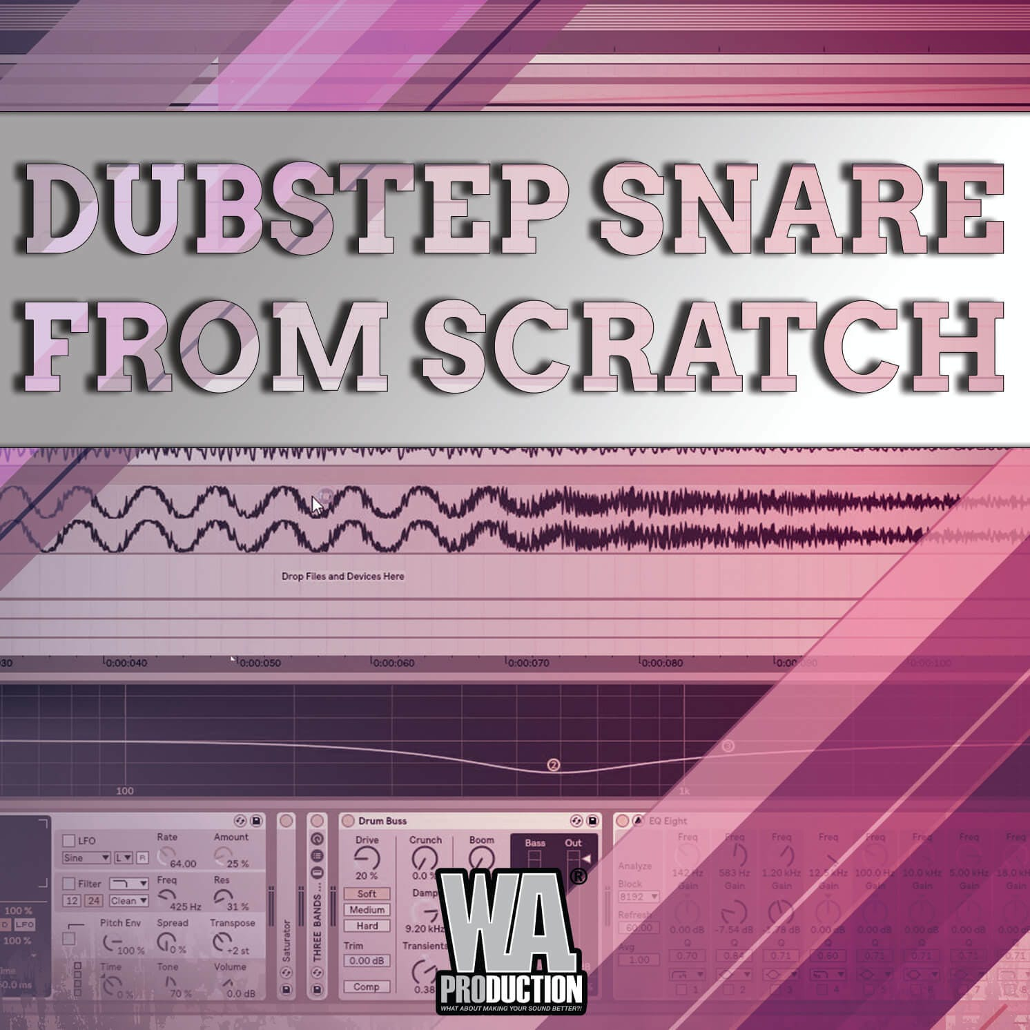 Make Dubstep Snare From Scratch