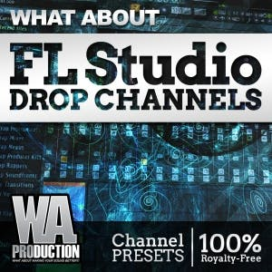 FL Studio Drop Channels