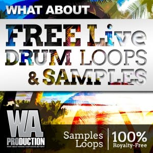 Free Live Drum Loops & Samples