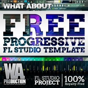 Free Progressive FL Studio Template